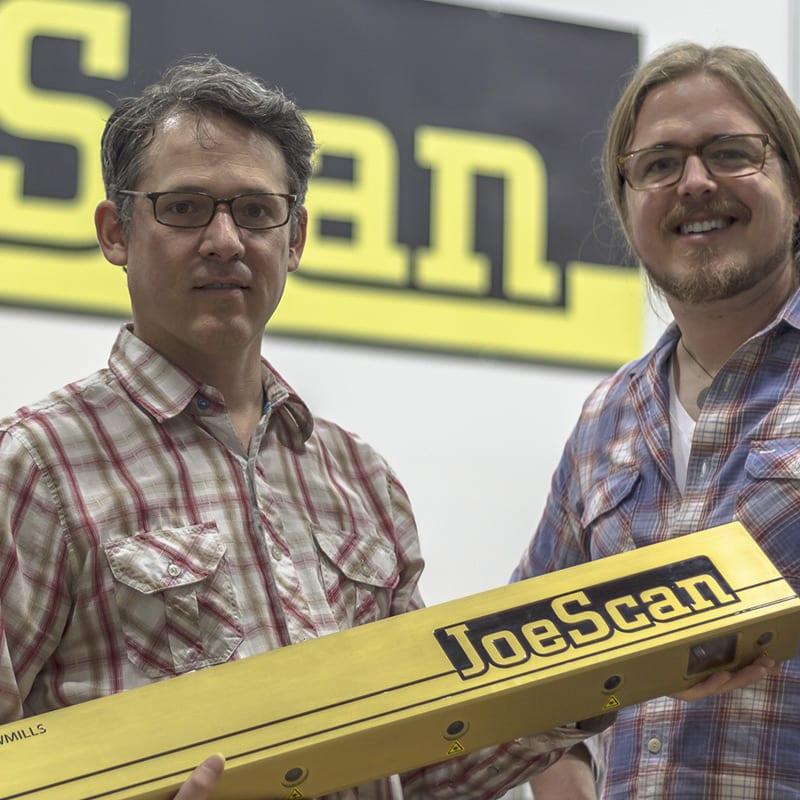 Joey & Brad   Team JoeScan