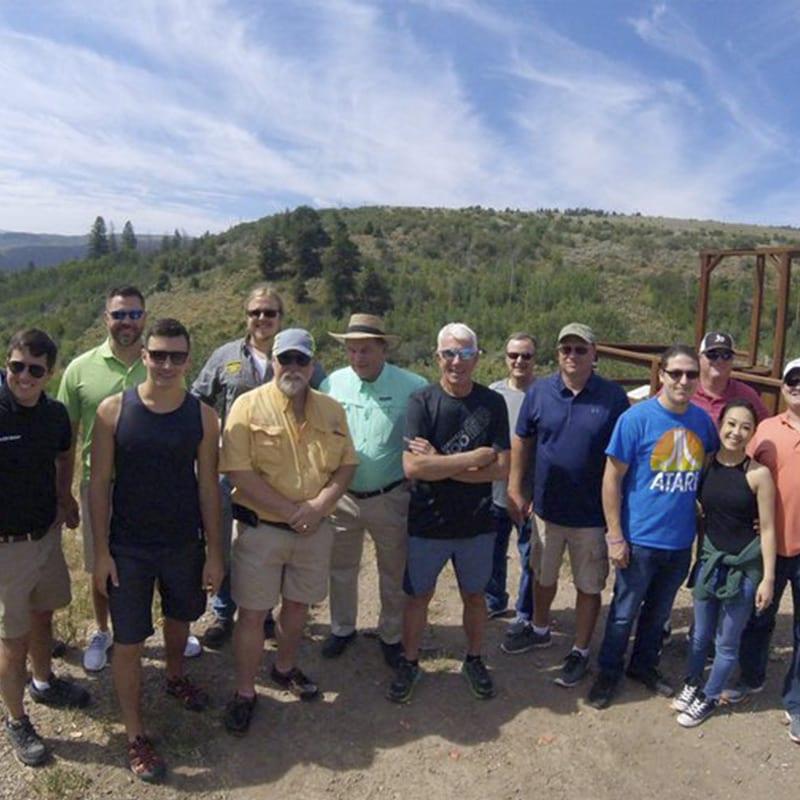 SLMA Sporting Clays Crew in Colorado